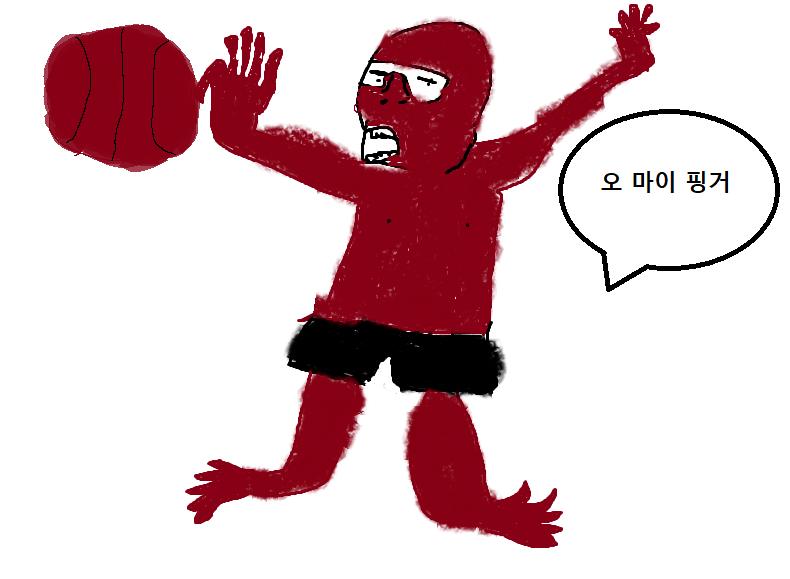 [팬아트 공모전] 손가락 부러진 빅독